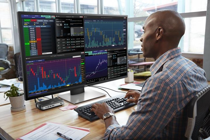 Dell 4k Multi Client Monitor P4317Q