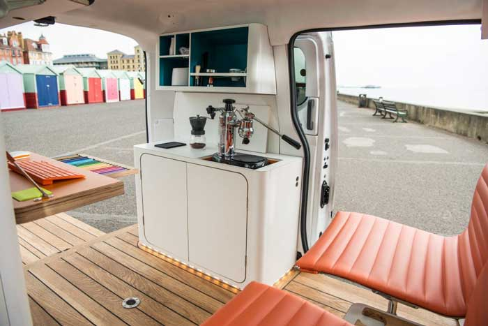 Electric Mobile Workspace