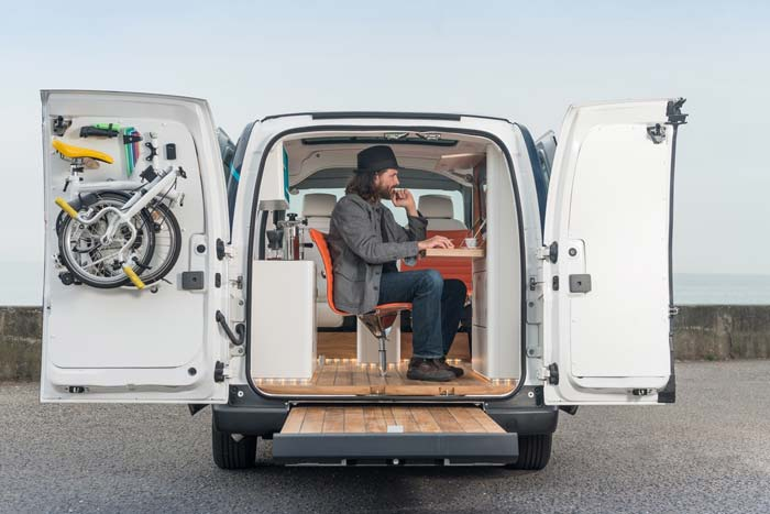 This Cool Electric Van Lets You Work and Travel Anywhere You Want