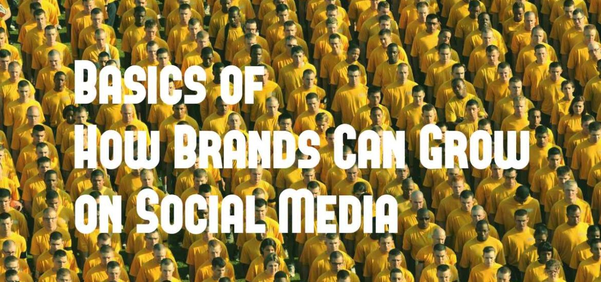 Basics of How Brands Can Grow On Social Media?